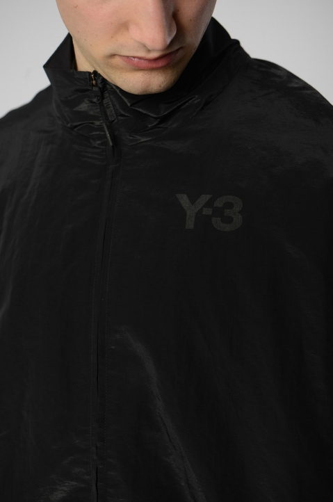 Y-3 Black Classic Shell Track Jacket 2