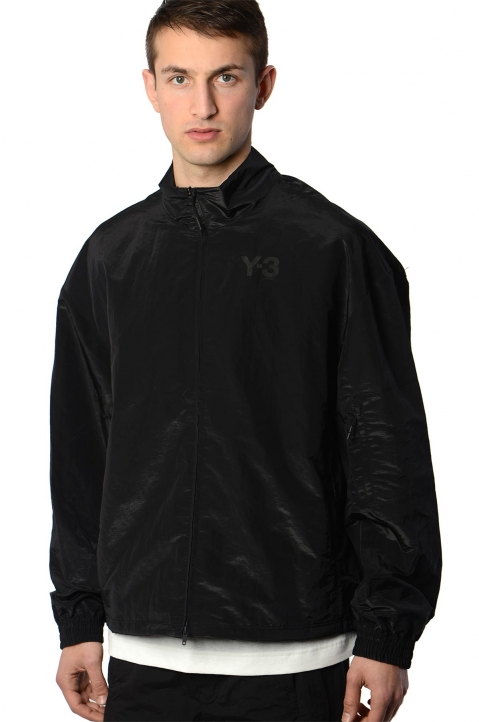 Y-3 Black Classic Shell Track Jacket 0