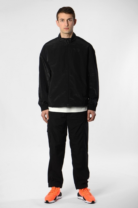 Y-3 Black Classic Shell Track Jacket 3