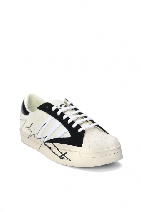 Y-3 Yohji Star White Sneakers 2
