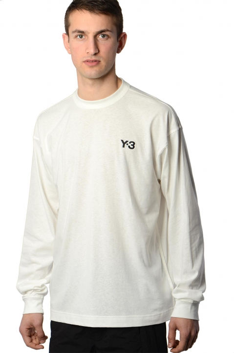 Y-3 Alley White L/S Tee 0