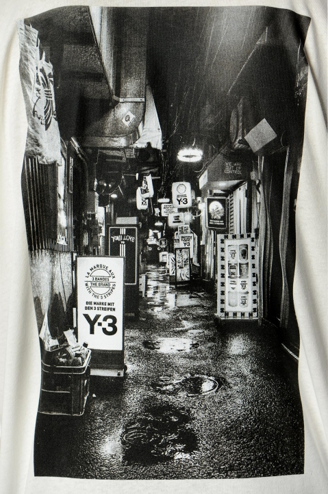 Y-3 Alley White L/S Tee 2