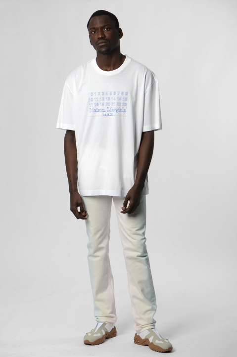 MAISON MARGIELA Join The Dots White Tee 2
