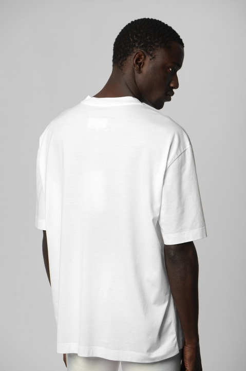 MAISON MARGIELA Join The Dots White Tee 1