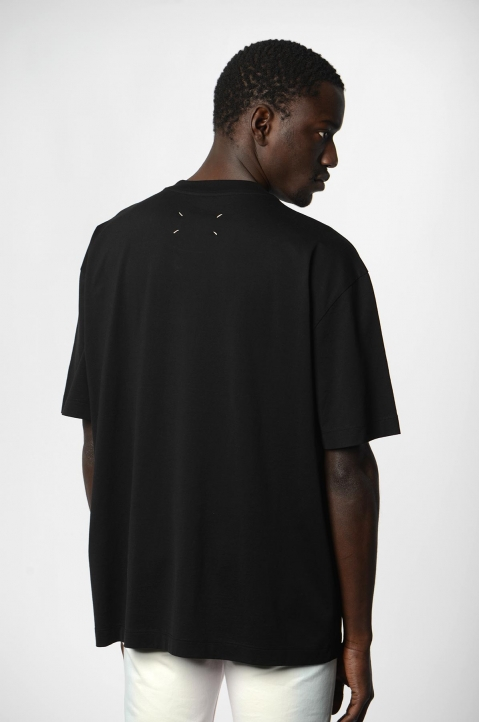 MAISON MARGIELA Join The Dots Black Tee 1