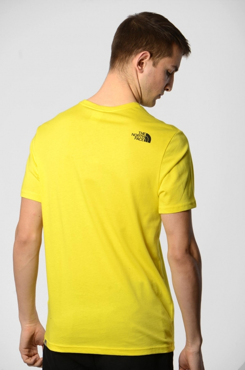 THE NORTH FACE Yellow Fine Tee 1