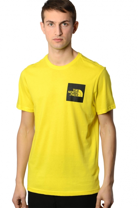THE NORTH FACE Yellow Fine Tee 0