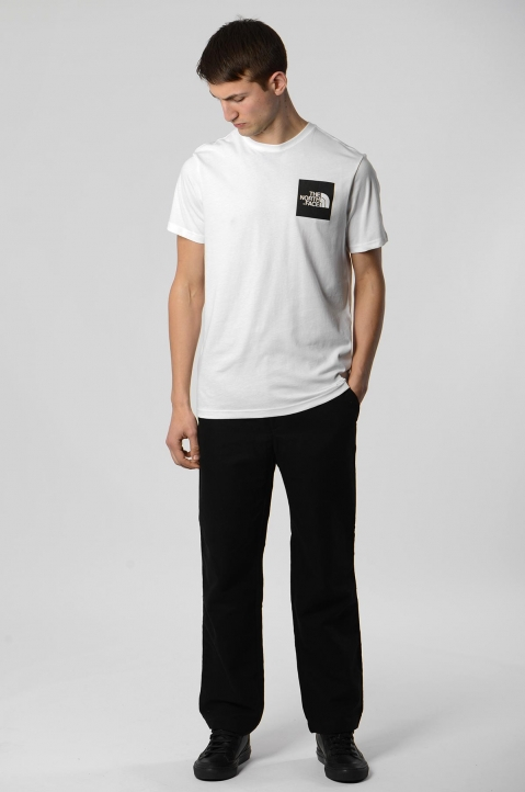 THE NORTH FACE White Fine Tee 2