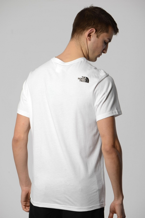 THE NORTH FACE White Fine Tee 1