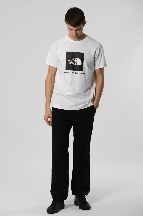 THE NORTH FACE White Box Tee 2