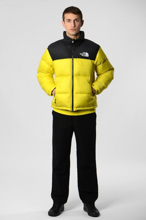 THE NORTH FACE 1996 Retro Nuptse Lemon Jacket  2