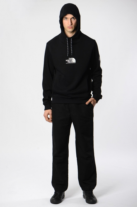 THE NORTH FACE Black Fine Alpine Hoodie 3