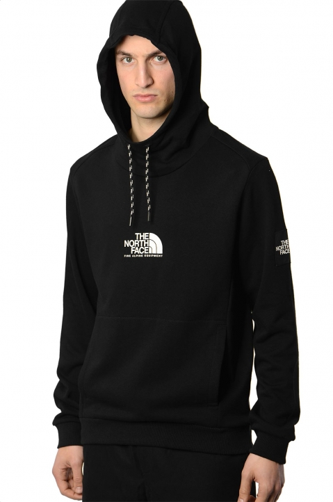 THE NORTH FACE Black Fine Alpine Hoodie 0