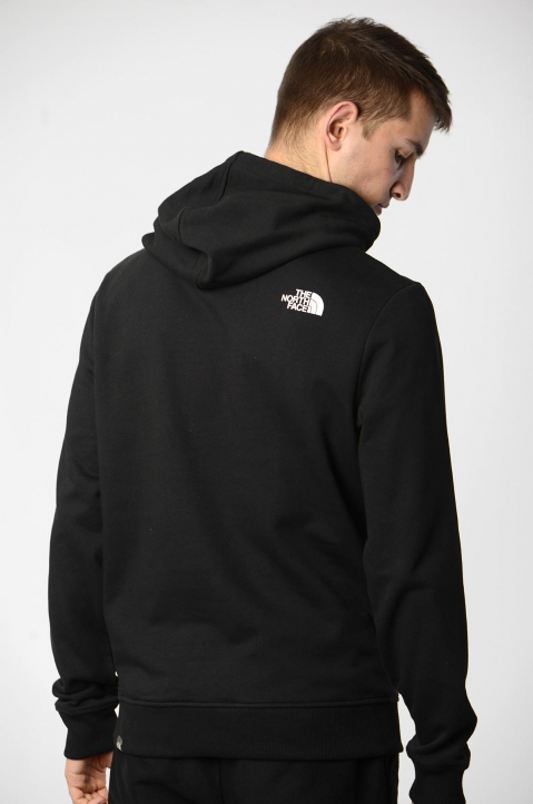 THE NORTH FACE Black Standard Hoodie 1