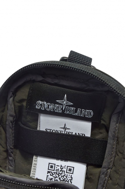 STONE ISLAND SHADOW PROJECT Olive Compact Pouch  2