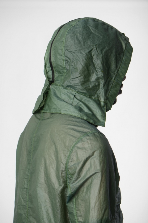 STONE ISLAND SHADOW PROJECT Green Translucent Field Jacket 2