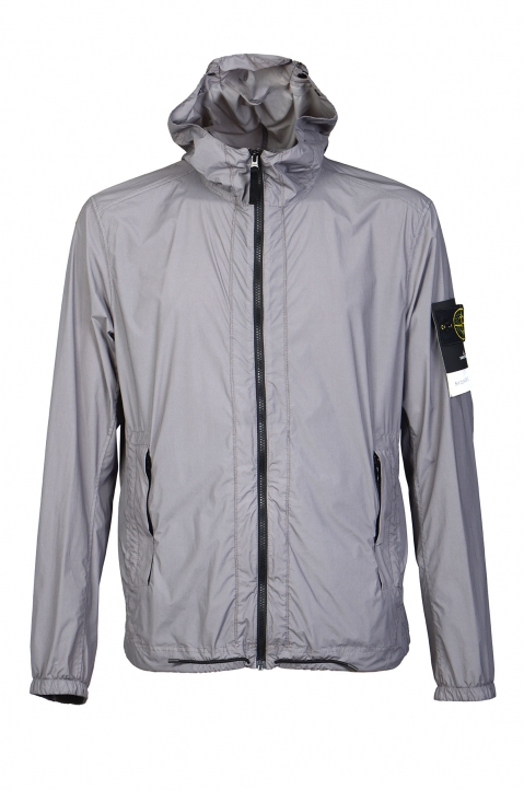 STONE ISLAND Grey Skin Touch Jacket  0