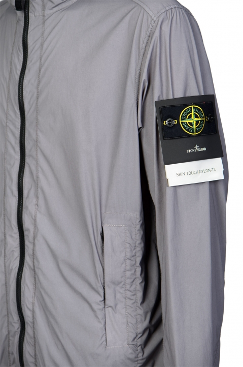 STONE ISLAND Grey Skin Touch Jacket  3