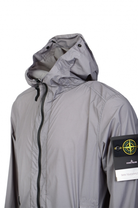 STONE ISLAND Grey Skin Touch Jacket  2