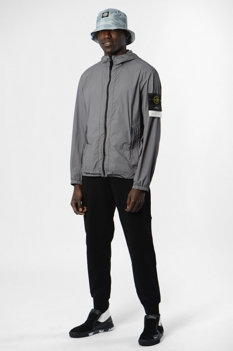 STONE ISLAND Grey Skin Touch Jacket  4