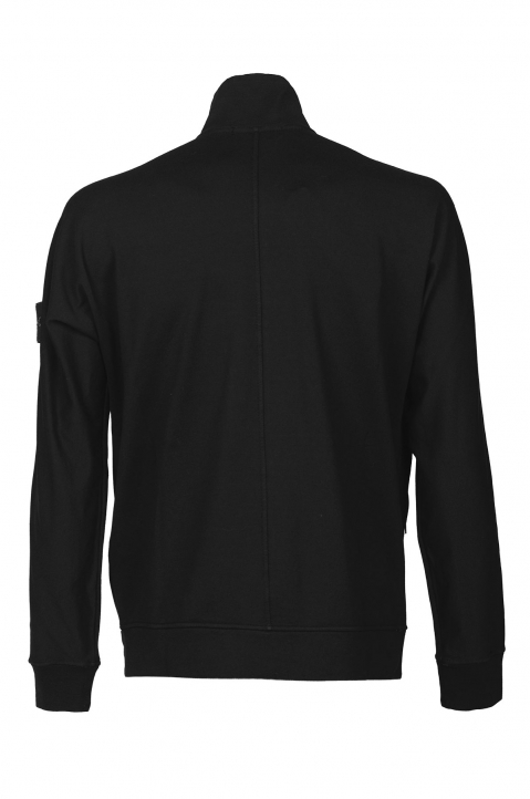 STONE ISLAND Black Fleece Jacket 1