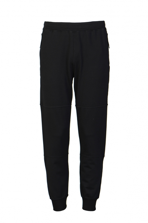 STONE ISLAND Black Sweatpants 0