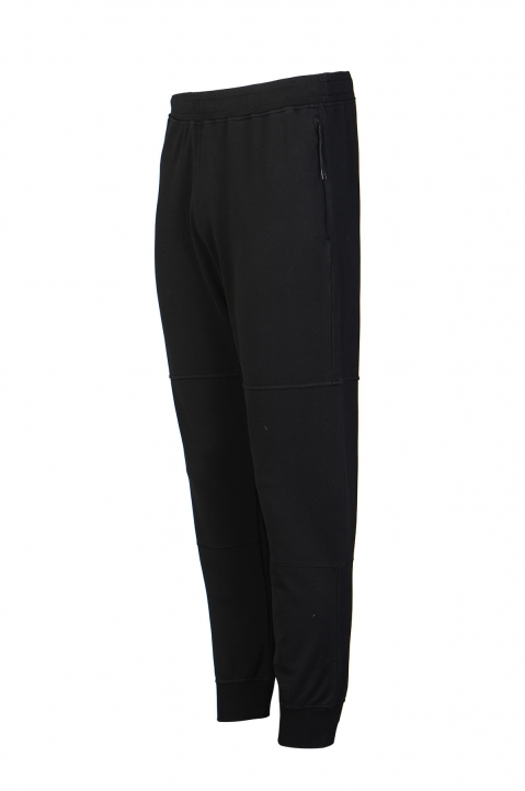 STONE ISLAND Black Sweatpants 1
