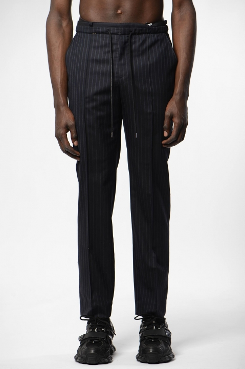 JUUN.J Relaxed Pinstripe Trousers 1