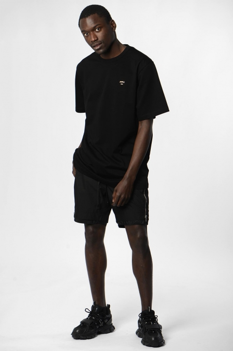 JUUN.J Black Zip Shorts 3