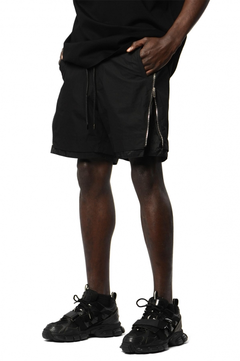 JUUN.J Black Zip Shorts 0