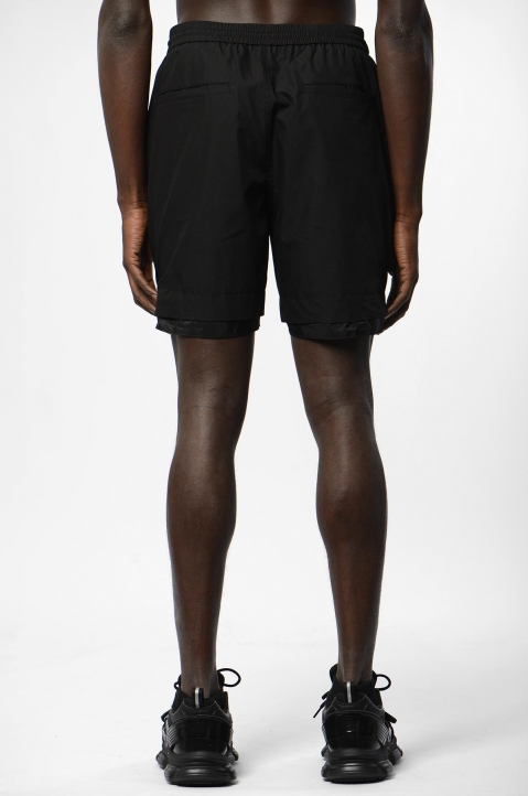 JUUN.J Black Zip Shorts 2