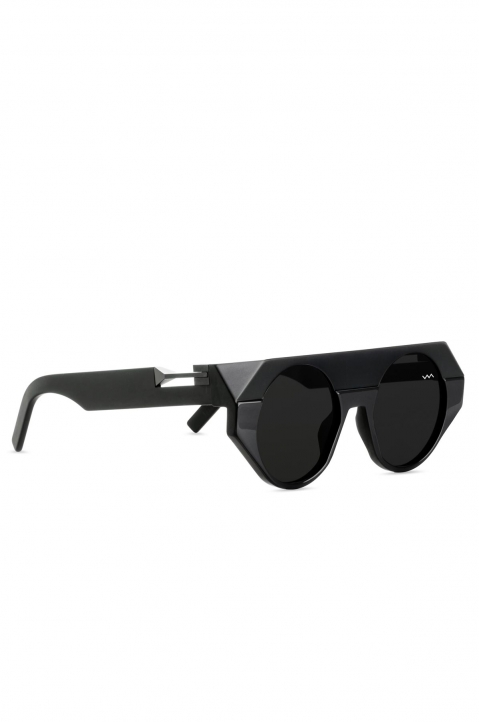 VAVA BL0017 Black Sunglasses w/ Black Lenses 1