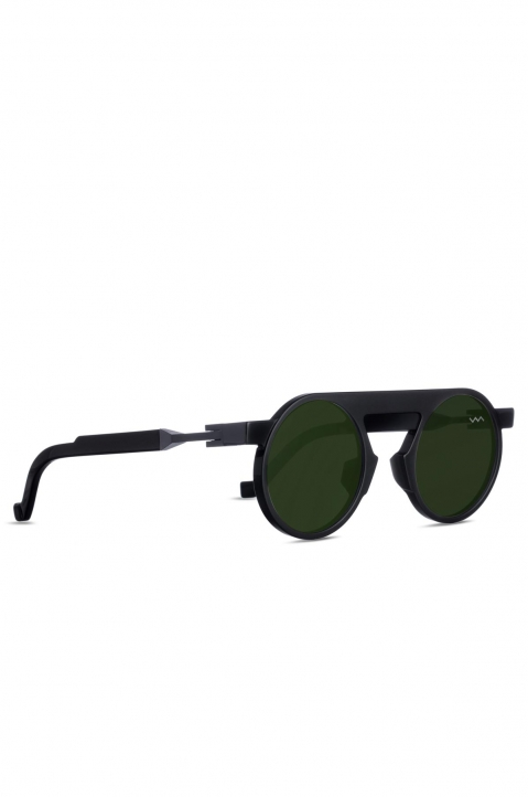 VAVA WL0024 Matte Black Sunglasses w/ Mirror Lenses 1