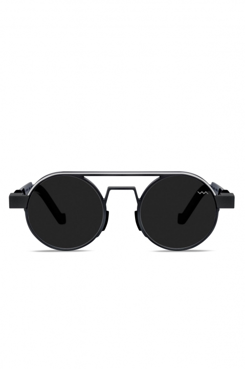 VAVA WL0023 Aluminum Black Sunglasses w/ Black Lenses  0