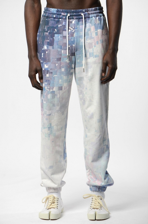 FENG CHEN WANG Digital Print Sweatpants 1