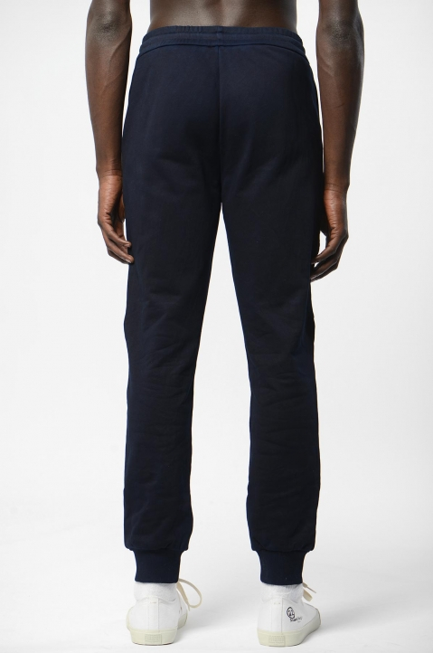 FENG CHEN WANG Navy Slit Knee Sweatpants 2