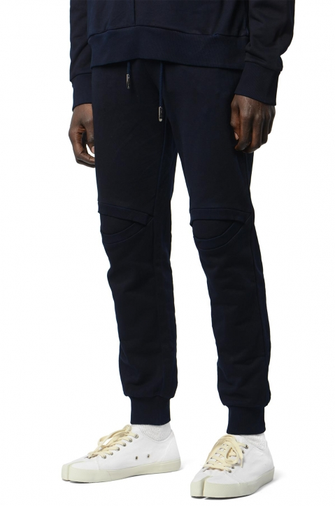 FENG CHEN WANG Navy Slit Knee Sweatpants 0