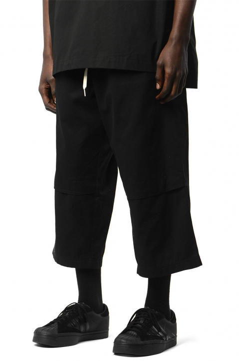 Y-3 Workwear Crop Black Trousers 0