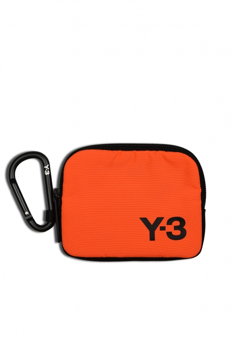 Y-3 Small Logo Orange Pouch  0