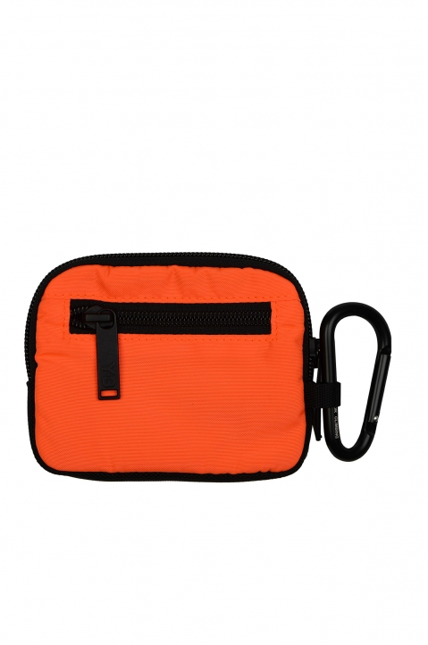 Y-3 Small Logo Orange Pouch  1