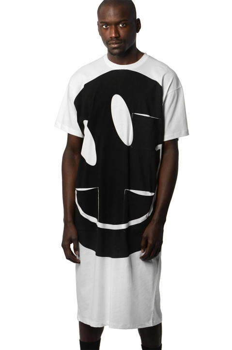 RAF SIMONS Smiley Lab Tee  0