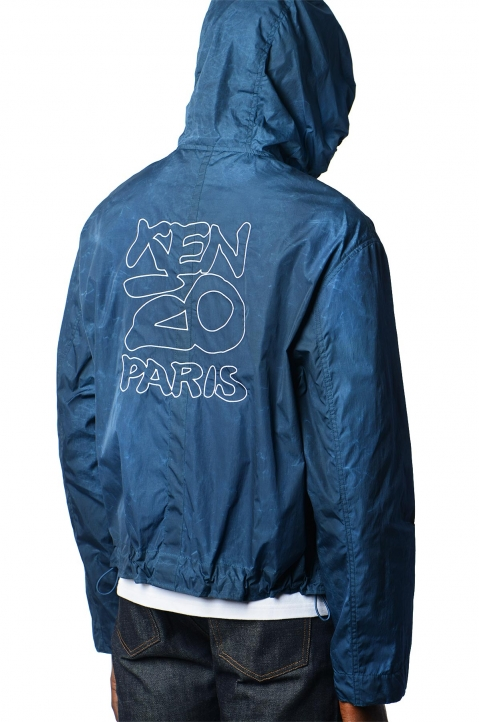 KENZO Summer Tie Windbreaker Jacket 0