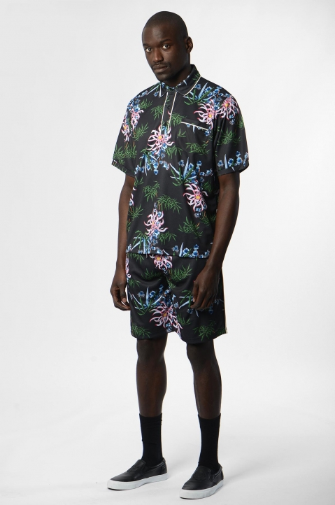 KENZO Floral Technical Polo-Shirt 2