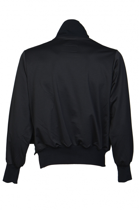 FUMITO GANRYU Double-Layer Black Jacket 1