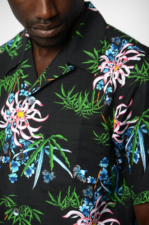 KENZO Floral Casual Shirt 2
