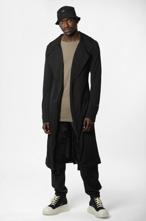 RICK OWENS x CHAMPION Trench Coat 3