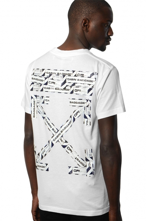 OFF-WHITE Airport White Tee 0