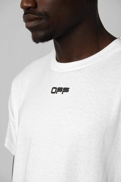 OFF-WHITE Airport White Tee 2