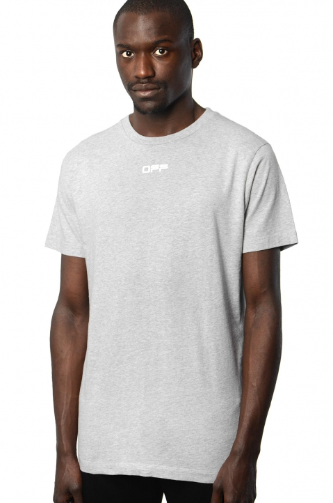OFF-WHITE Airport Grey Tee 0
