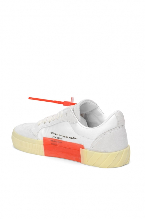 OFF-WHITE White Low Vulcanized Sneakers 2